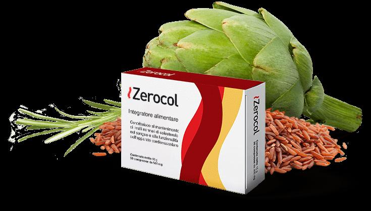 ZeroCol integratore alimentare che regola il colesterolo