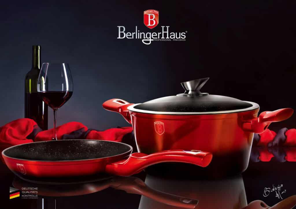 Batteria di pentole induzione Berlinger Haus Metallic Line Edition Set 15pz